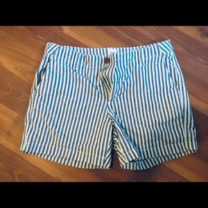 Gap Blue and White Shorts
